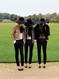 British Vogue, February 2013