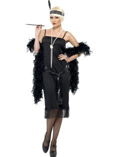 A Great Gatsby flapper costume