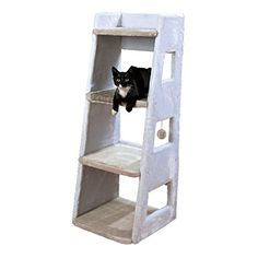 Trixie Luis Cat Tower, 116 cm, White >>> Click image to review more details. (This is an affiliate link) #CatScratchersandFurniture
