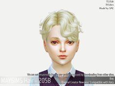 Lana CC Finds - maygamestudio:   TS4 Child hair (Newsea edit) ...