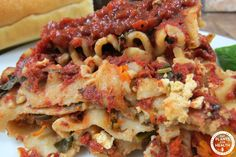 PB lasagna. Straight from Dr. Neal Barnard's The Cheese Trap (with a couple of modifications and some original recipe substitutions). I made this dish for a bunch of vegans and non vegans and everyone loved it. When I went to wrap...Read More »