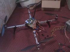 Raspberry Pi Quadcopter #arduino  ~~~ For more cool Arduino stuff check out http://arduinoprojecthacks.com