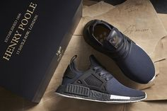 A first look at the new collaboration between renowned sportswear brand Adidas and Savile Row Tailor Henry Poole.