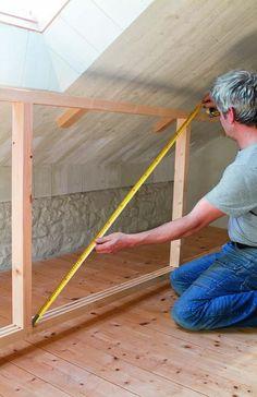 Eaves Storage, Roof Storage, Storage Spaces, Garage Bench, Tiny Loft, Loft Bathroom, Loft Room, Upstairs Bedroom, Attic Remodel