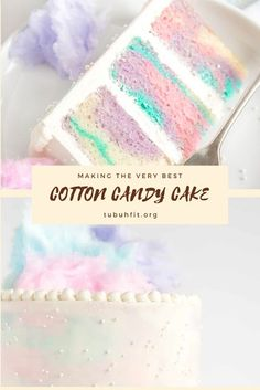 Cotton Candy Cake: 2 cups all-purpose flour 2 tsp baking powder tsp salt cup unsalted butter room temperature 1 cup granulated sugar 3 large eggs room temperature 1 tsp cotton candy flavoring Cotton Candy Cakes, Cotton Cake, Sweet Recipes, Cake Recipes, Dessert Recipes, Baking Recipes, Just Desserts, Delicious Desserts, Cotton Candy Wedding