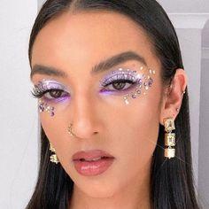 Makeup Eye Looks, Eye Makeup Art, Pretty Makeup, Skin Makeup, Glitter Makeup Looks, Sparkle Makeup, Fairy Makeup, Gorgeous Makeup, Glam Makeup