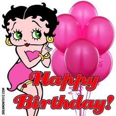 Karen uploaded this image to 'Birthday/Betty Boop Birthday'. See the album on Photobucket. Happy Birthday Betty Boop, Cute Happy Birthday, Happy Birthday Wishes Cards, Birthday Cheers, Happy Birthday Candles, Happy Birthday Quotes, Happy Birthday Images, Birthday Stuff, Happy Birthdays