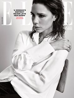 Victoria Beckham on ELLE UK May 2017 Cover