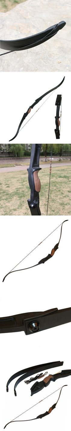 56inch 30LBS Takedown Ambidextrous Recurve Bow Outdoor CS Game Bow Archery Target Shooting Game Practice Right Left Hand