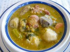 Sancoche is one of our favourite and homemade soups that is made in Trinidad and Tobago.