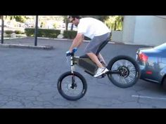 Stealth Electric Bikes H-52 #001 - Prototype testing. - YouTube