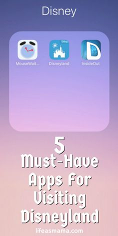 Planning a trip to Disneyland soon? Or maybe you are an annual pass holder? Check out this list of apps that gives you details on crowds, attraction lines and more at the Happiest Place on Earth!