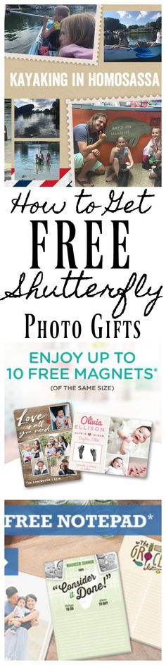 Find out How to Get Shutterfly Coupon Codes for FREE Photo Items. You can get a lot of free gifts from shutterfly with Shutterfly Coupon Codes. Find out the trick to getting LOTS of FREE Shutterfly Product Coupon codes in your inbox!