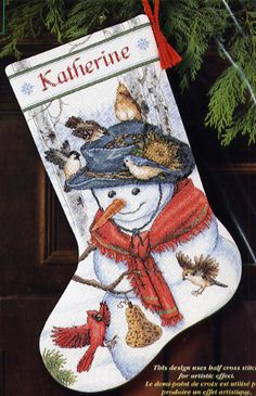 Emma's Friends Stocking - Cross Stitch Kit