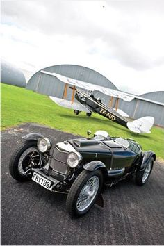 1931 Riley Aero Special.  This was/is a beautiful automobile, fun, reasonably fast and sportingly elegant.