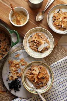 Morning Glory Steel Cut Oats by joy the baker