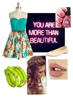 Anyone is Beautiful by aaliyah-rivera on Polyvore featuring polyvore, fashion, style, LaLucca and GALA