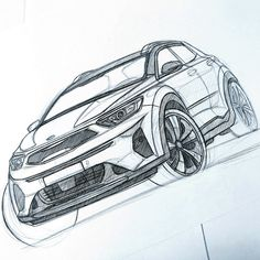 kia stonic sketch by baaam7991