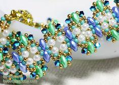 Tutorial  Laulin Bracelet by bybeejang on Etsy
