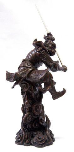 T-Trove Asian Decor - Bronze Monkey King 19cm, $135.00 (http://www.t-trove.com/products/Bronze-Monkey-King-19cm.html)
