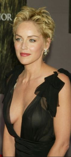 Sharon Stone Hairstyles, Sharon Stone Photos, Actrices Hollywood, Famous Faces, Beautiful Actresses, Pretty Woman, Lady, Divas, Beauty Women