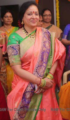 India Jewelry, Gold Jewelry, Beaded Jewelry, Curvy Women Fashion, Womens Fashion, Tejaswi Prakash, Hot Images Of Actress, Beautiful Women Over 40, Blouse Models