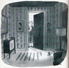 Charles Addams  (First published in The New Yorker on November 9, 1981)
