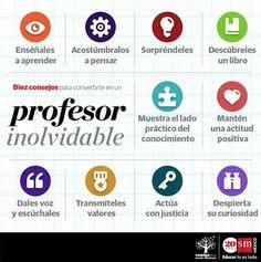 10 consejos para ser un profesor inolvidable