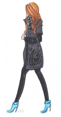 https://www.pinterest.com/LineBotwin/g-i-r-l-y-i-l-l-u-s-t-r-a-t-i-o-n-s/  fashion illustration by Stephanie Fowler on Streetlight blog