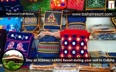 Famous for designing beautiful Applique handicrafts of Odisha.