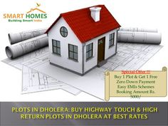 Plots in Dholera: Highway Touch & High Return Plots in Dholera at Best Price.
