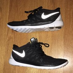 Nike Free 5.0 Like new! Worn once around the house, then just never ended up wearing them. Never worn outside. Perfect condition, no flaws. Nike youth 5.5 are a Nike women's 7. Make an offer! Nike Shoes Athletic Shoes