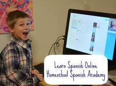Learn Spanish Online: Homeschool Spanish Academy