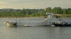 The Soviet Union's Secret Flying Ekranoplan
