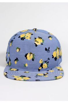 01fd8ce2da7 Obey Clothing Meadow Lark II Strapback Hat - Indigo Chambray