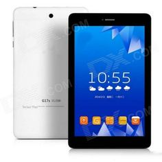 "TECLAST G17s MTK8382 7"" Quad-core Android 4.2 3G Tablet PC w/ ROM 8GB, Wi-Fi, Bluetooth - White Price: $89.64"