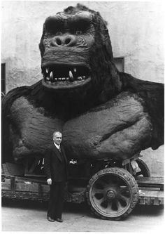 The King Kong bust that sat in front of Graumann's Chinese Theater during the premiere in 1933.