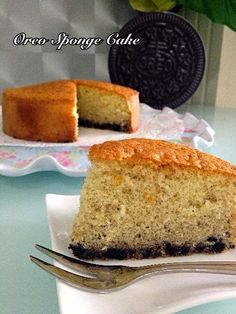 Culinary Kitchenette: Oreo Sponge Cake by Vanessa Tay