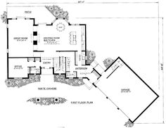 1000 images about garage plans on pinterest garage for 2 bedroom house plans with attached garage