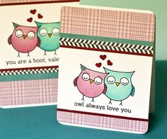 Free Digital download of owls and sentiment