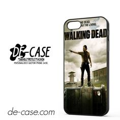 Fight The Dead Fear The Living Walking Dead DEAL-4199 Apple Phonecase Cover For Iphone SE Case