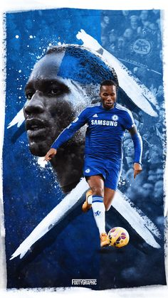 Sports/Didier Drogba Wallpaper ID: 756221 - Mobile Abyss Chelsea Football Team, Chelsea Soccer, Chelsea Fans, Girls Soccer, Soccer Fans, Football Players, Chelsea Champions League, Chelsea Fc Wallpaper, Sports Graphic Design