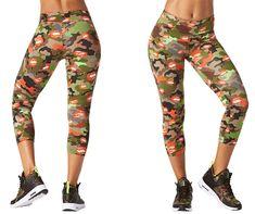 Party In Da Basement Perfect Capri Leggings | Zumba Fitness Shop