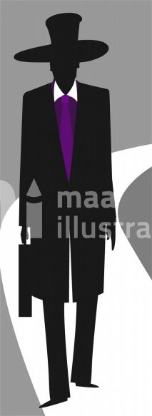 Illustration Of Silhouette Of A Man Owner:  Maa Illustrations
