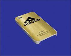 Adidas Logo Gold for iphone 4/4s/5/5s/5c/6/6 Samsung by sedulurmu