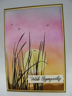 Sympathy Card by Ausmex - Cards and Paper Crafts at Splitcoaststampers