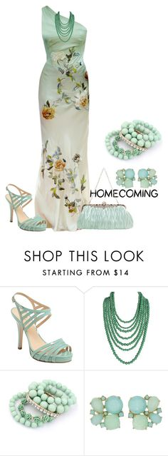 """""""home coming"""" by kim-coffey-harlow ❤ liked on Polyvore featuring Alexander McQueen, Kate Spade and Humble Chic"""