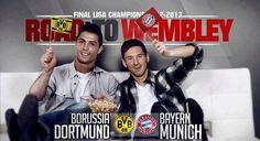 Wir wünschen Euch und diesen beiden Herren ein spannendes Champions League Finale!