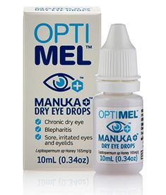 Study shows eye-drops and gel comprising antibacterial Manuka honey relieve dry eye. Ocular Rosacea, Chronic Dry Eye, Dry Eye Drops, Dark Circles, Skin Care, Skincare Routine, Skins Uk