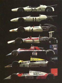 F1 Honda Cars
